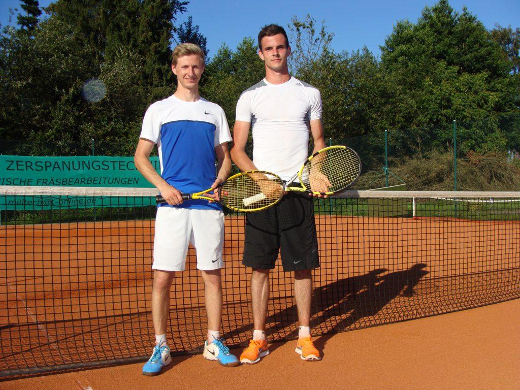 Max Huber und Fabian Gschwendner